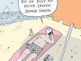 Gestresst vom Sommer