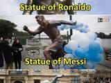 Neymar-Statue