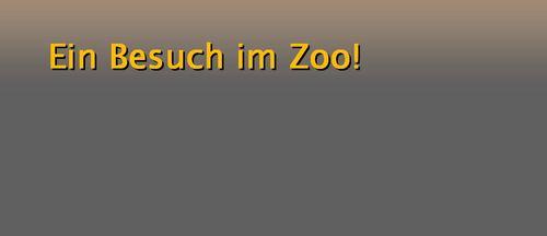 Der Zoobesuch