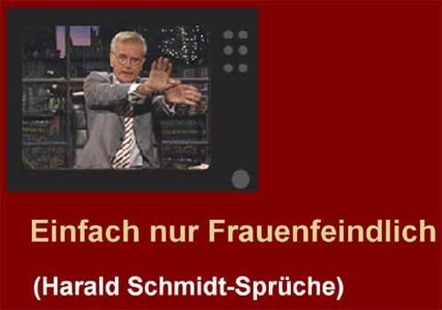 Harald Schmidt Sprüche