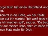 Bush in der Hölle
