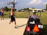 Golfwagensprung